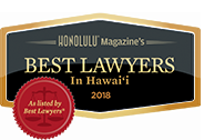 Honolulu Magazine | Best Lawyers In Hawai 2018